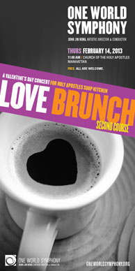 Love Brunch: Second Course