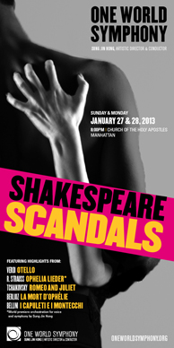 Shakespeare Scandals